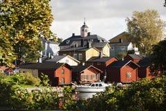 Άποψη Porvoo Στοκ φωτογραφία με δικαίωμα ελεύθερης χρήσης