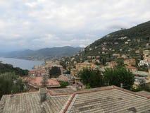 Άποψη Rapallo στοκ εικόνα με δικαίωμα ελεύθερης χρήσης