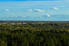 Άποψη Rezekne Στοκ εικόνα με δικαίωμα ελεύθερης χρήσης
