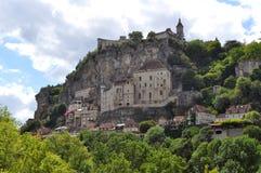 Άποψη Rocamadour, Γαλλία στοκ εικόνες