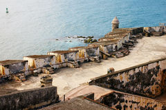 Άποψη SAN Felipe del Moprro Castle Στοκ φωτογραφία με δικαίωμα ελεύθερης χρήσης
