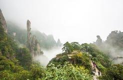 Άποψη Sanqingshan, Jiangxi, αριθ. 3 στοκ φωτογραφία με δικαίωμα ελεύθερης χρήσης
