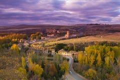 Άποψη Segovia Στοκ εικόνα με δικαίωμα ελεύθερης χρήσης