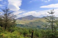 Άποψη Snowdon στοκ φωτογραφίες