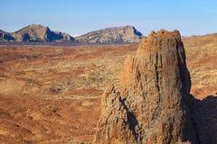 Άποψη teide EL Στοκ Φωτογραφία
