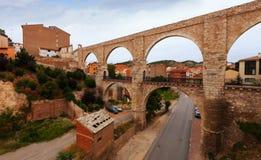 Άποψη Teruel με το υδραγωγείο Los Arcos Στοκ εικόνες με δικαίωμα ελεύθερης χρήσης