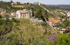 Άποψη Tomar Πορτογαλία Στοκ φωτογραφία με δικαίωμα ελεύθερης χρήσης