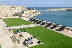 Άποψη Valletta, η πρωτεύουσα της Μάλτας Στοκ Εικόνα