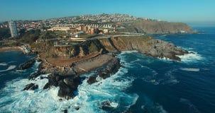 Άποψη Valparaiso ` s Aereal, Χιλή