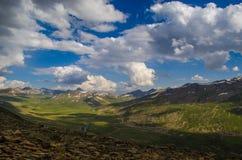Άποψη Valy από την κορυφή Babusar Στοκ εικόνες με δικαίωμα ελεύθερης χρήσης