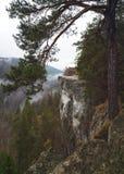 Άποψη Vyhlad Tomasovsky Tomasovsky, σλοβάκικος παράδεισος Slovensky Raj, Σλοβακία Στοκ Εικόνες