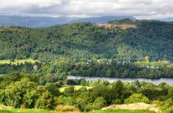 Άποψη Windermere άνωθεν στοκ φωτογραφία με δικαίωμα ελεύθερης χρήσης