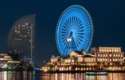 Άποψη Yokohama στοκ εικόνα