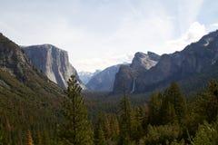 Άποψη Yosemite Στοκ Φωτογραφίες