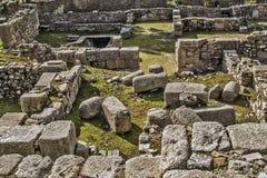 Άραβας καταστρέφει τη archeological περιοχή Στοκ εικόνες με δικαίωμα ελεύθερης χρήσης