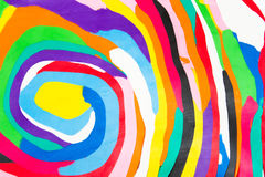 άργιλος ζωηρόχρωμος Στοκ φωτογραφία με δικαίωμα ελεύθερης χρήσης