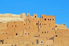 Άργιλος kasbah Ait Benhaddou Μαρόκο Στοκ Φωτογραφία