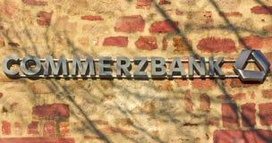 άργυρος Commerzbank στοκ φωτογραφία με δικαίωμα ελεύθερης χρήσης