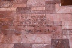 Άρθρο του κειμένου Magna Carta στοκ εικόνα με δικαίωμα ελεύθερης χρήσης