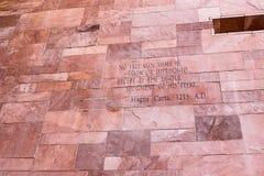 Άρθρο του κειμένου Magna Carta Στοκ Φωτογραφία