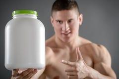Άριστα τρόφιμα για Bodybuilder Στοκ εικόνες με δικαίωμα ελεύθερης χρήσης