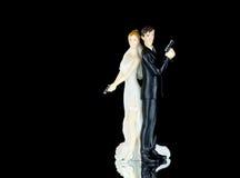Άριστος γαμήλιων κέικ Στοκ Εικόνες