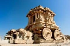 Άρμα πετρών στο ναό Vittala σε Hampi στοκ φωτογραφία με δικαίωμα ελεύθερης χρήσης