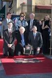 Άρνολντ Σβαρτζενέγκερ, James Cameron, Sigourney Weaver στοκ φωτογραφίες με δικαίωμα ελεύθερης χρήσης
