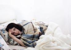 άρρωστοι κοριτσιών σπορ&epsilon Στοκ Φωτογραφία