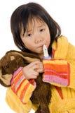 άρρωστοι παιδιών Στοκ εικόνες με δικαίωμα ελεύθερης χρήσης