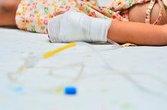 Άρρωστοι παιδιών. Στοκ Φωτογραφία