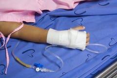 Άρρωστοι παιδιών Στοκ εικόνα με δικαίωμα ελεύθερης χρήσης