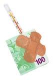 άρρωστοι χρημάτων Στοκ Εικόνες