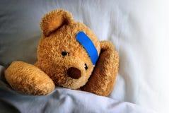 άρρωστοι teddy Στοκ Εικόνα