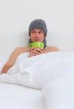 άρρωστος άνδρας σπορείων Στοκ Εικόνες