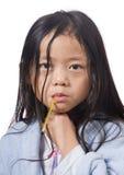 Άρρωστο παιδί στοκ εικόνα με δικαίωμα ελεύθερης χρήσης