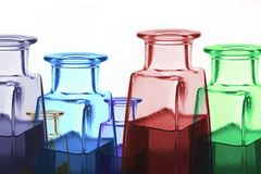 άρωμα μπουκαλιών αποθηκαρίων Στοκ Εικόνα
