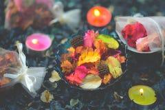 Άρωμα Aromatherapy του πορτοκαλιού Υγεία και ομορφιά, ακόμα έννοια ζωής στοκ φωτογραφίες με δικαίωμα ελεύθερης χρήσης