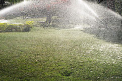 Άρδευση κήπων Στοκ Φωτογραφία