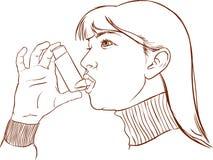 Άσθμα Στοκ εικόνες με δικαίωμα ελεύθερης χρήσης