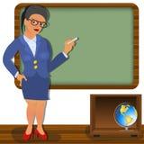 δάσκαλος σχολείου Στοκ εικόνα με δικαίωμα ελεύθερης χρήσης