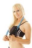 άσκηση έτοιμη στη γυναίκα Στοκ εικόνα με δικαίωμα ελεύθερης χρήσης