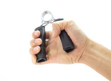 Άσκηση λαβών περιγράμματος πιασιμάτων χεριών Στοκ φωτογραφίες με δικαίωμα ελεύθερης χρήσης