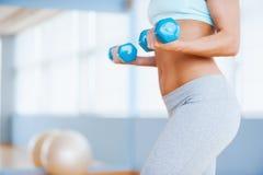 Άσκηση βάρους Στοκ Φωτογραφία