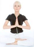 Άσκηση γιόγκας σώματος Στοκ εικόνα με δικαίωμα ελεύθερης χρήσης