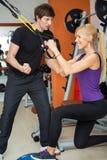 Άσκηση γυναικών γυμναστικής στοκ φωτογραφίες με δικαίωμα ελεύθερης χρήσης