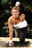 Άσκηση γυναικών Στοκ Φωτογραφία
