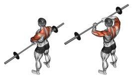 άσκηση Κάθετες ράβδοι με τη ράβδο