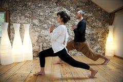 Άσκηση και γιόγκα Στοκ Φωτογραφία