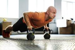 Άσκηση στη σύγχρονη γυμναστική Στοκ Εικόνες